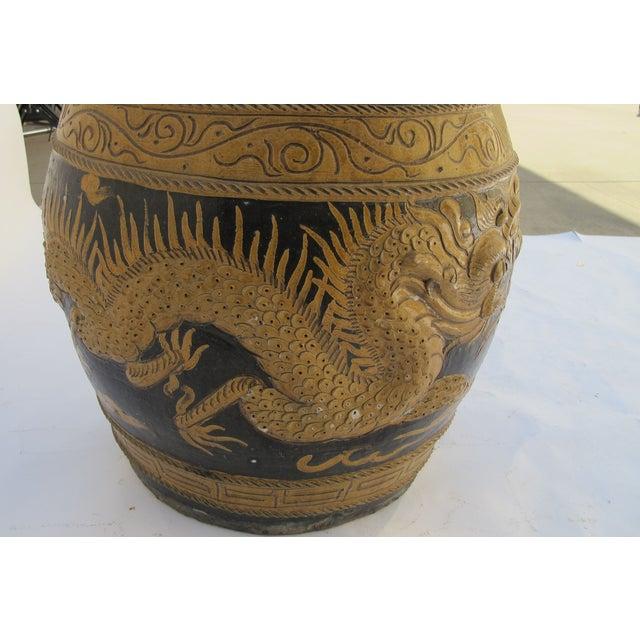 Image of 1960's Monumental Bhutan Dragon Pot