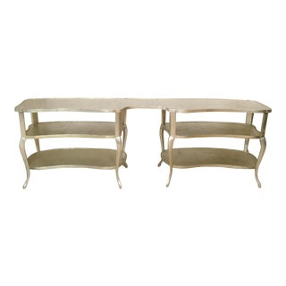 Grosfeld House Style Hollywood Regency Console