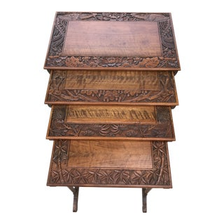 Antique Nesting Tables - Set of 4