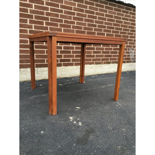 Image of Vintage Danish Modern Extension Teak Table
