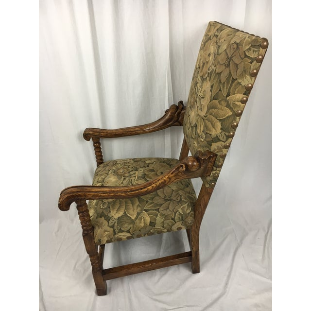 Spanish Arm Chair - Image 4 of 11
