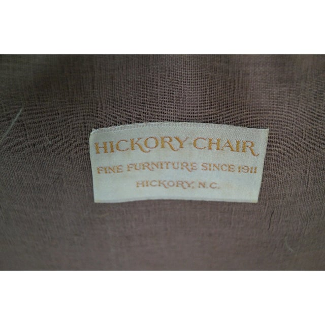 Hickory Co. Mahogany Queen Anne Armchairs - Pair - Image 8 of 10