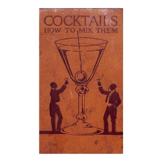 Cocktails: How to Mix Them Book