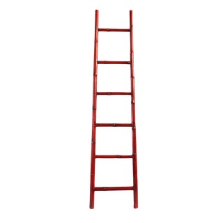 Bamboo Ladder Red