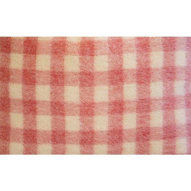 Custom Scottish Plaid Virgin Wool Pillows - A Pair - Image 7 of 8