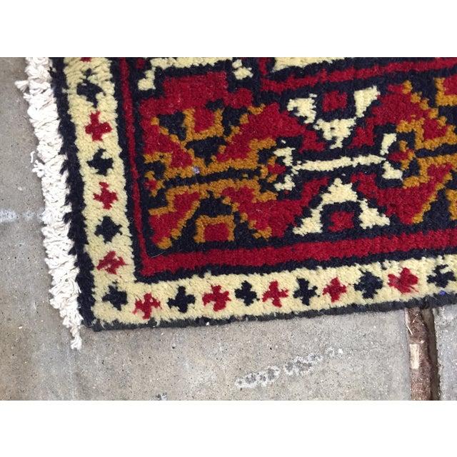 Turkaman Handmade Persian Rug - 1′8″ × 2′11″ - Image 8 of 11