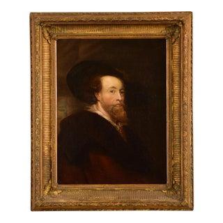 Sir Peter Paul Ruben's Self Portrait