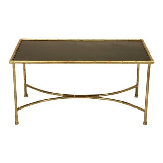 Bagues Style Brass Coffee Table