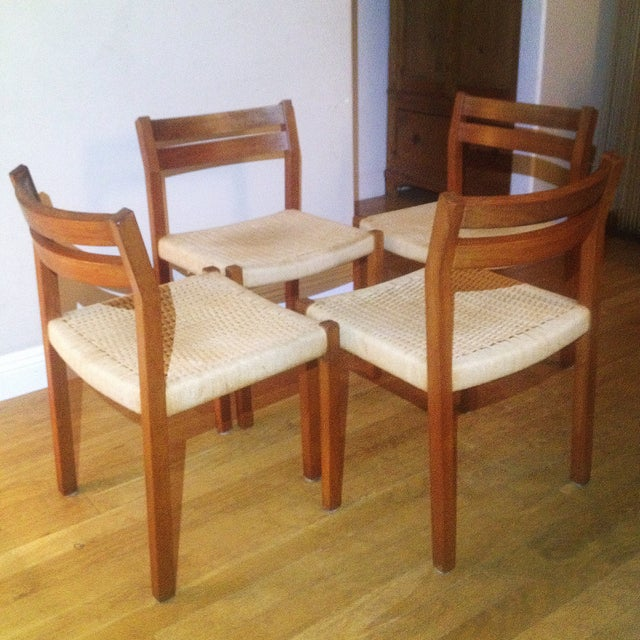 Image of Mid Century Modern Moller #404 Dining Chairs - 4