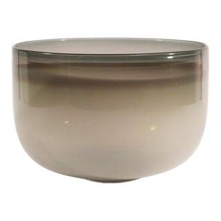 Guggisberg Baldwin Nonfoux White & Grey Glass Bowl