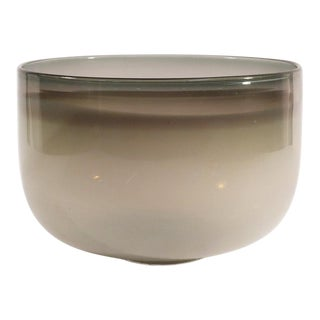 Guggisberg Baldwin Nonfoux White & Grey Glass Bowl