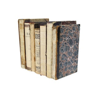 Deconstructed Antique Books - Set of 6