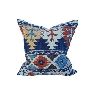 Pierre Frey Nubby Tribal Print Pillow