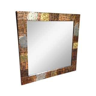 Paul Evans Patchwork Wall Mirror