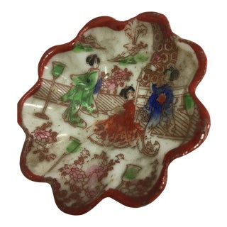 Decorative Japanese Porcelain Dish