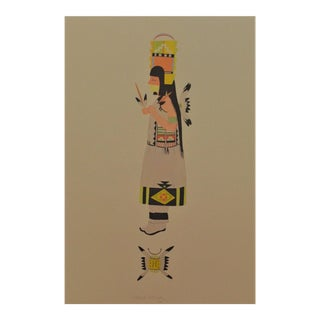 Aztec Inspired Lithograph