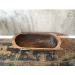 Image of Large Vintage European Dough Bowl