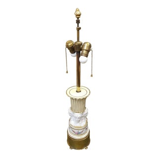 French Neoclassical Table Lamp