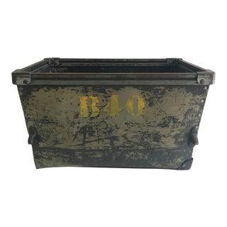 Vintage Industrial Bin