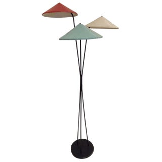 Mid Century Modernist Floor Lamp by Arteluce, Italy circa 1955