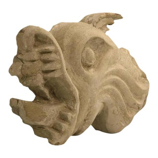 Stone Carved Fish