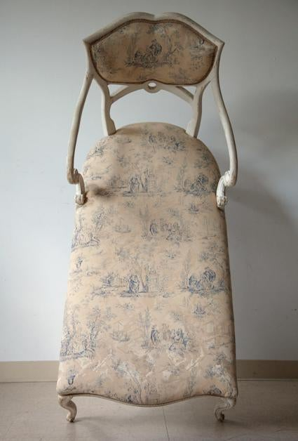 antique louis xvi style chaise chairish