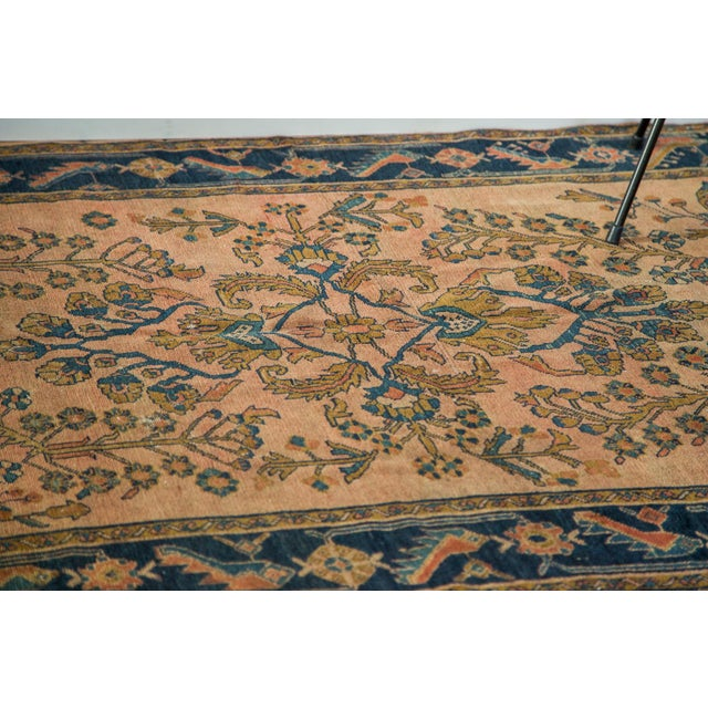 "Antique Lilihan Square Rug - 5' X 5'9"" - Image 9 of 9"