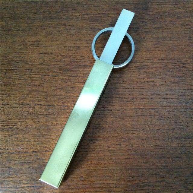 Vintage Brass Scissors and Letter Opener Set - Image 5 of 9
