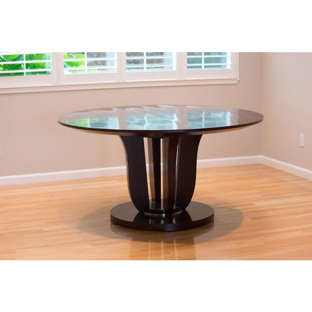 Barbara Barry Round Fluted Dining Table - Image 9 of 9