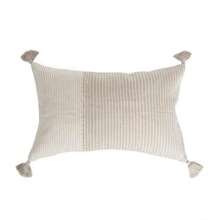 Guatemalan Tan Striped Pillow