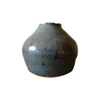 Studio Ceramic Stack Modernist Organic Lava Vase