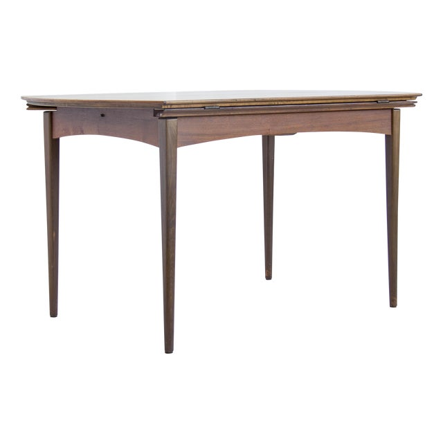 Image of Dux of Sweden Round Drop Leaf Dining Table