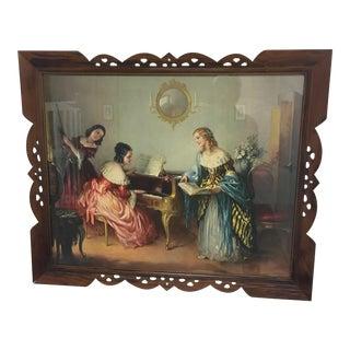 Vintage Pine Framed Print