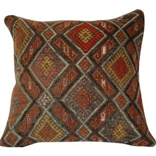 Bohemian Square Handmade Kilim Pillow Cushion