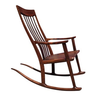 Claro Walnut Rocking Chair by Anthony Kahn