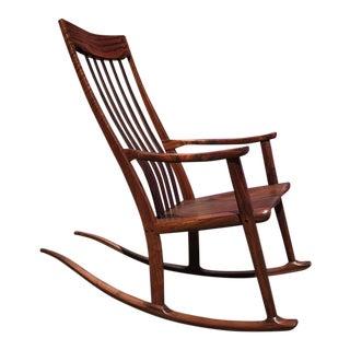 Claro Walnut Rocking Chair by Anthony Kahn