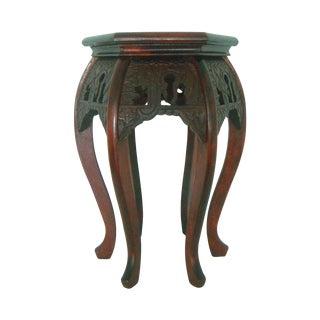 Oriental Hard Wood Plant Stand/Stool/Table