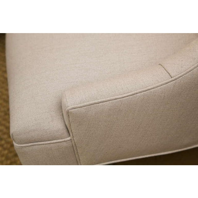 Mid-Century Slipper Chairs, Pair - Image 6 of 8