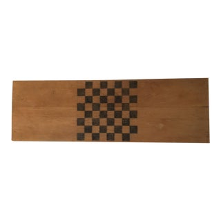 Handmade Wood Checker Board
