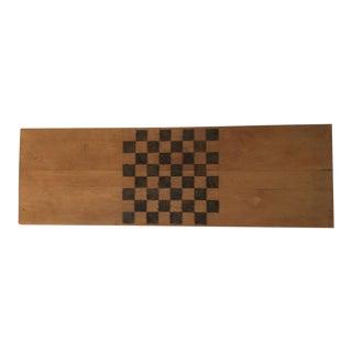 Handmade Wood Checker Board