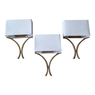Currey & Co Contemporary Wall Sconces - Set of 3