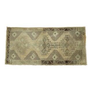Vintage Turkish Rug, 1'7'' x 3'4''