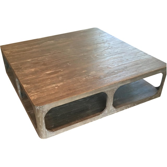 Restoration hardware coffee table chairish Restoration coffee tables