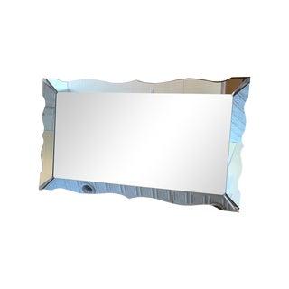 Large Vintage Venetian Style Wall Mirror