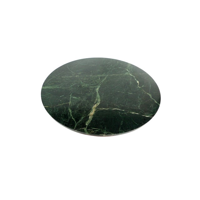 Widdicomb Mid-Century Green Marble Center Table - Image 3 of 7