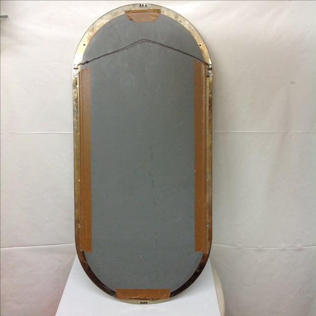 Milo Baughman DIA Brass Console Mirror - Image 3 of 3