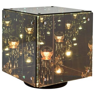 Prismar Luminoso Cubo Table Lamp by Studio A.R.I.D.I.T.I for Sormani