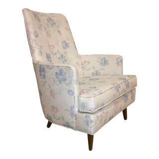 Vintage Gio Ponti Style Lounge Chair