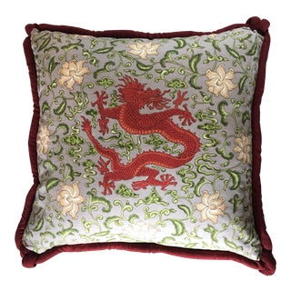 Scalamandre Chien Dragon Extra Large Pillow