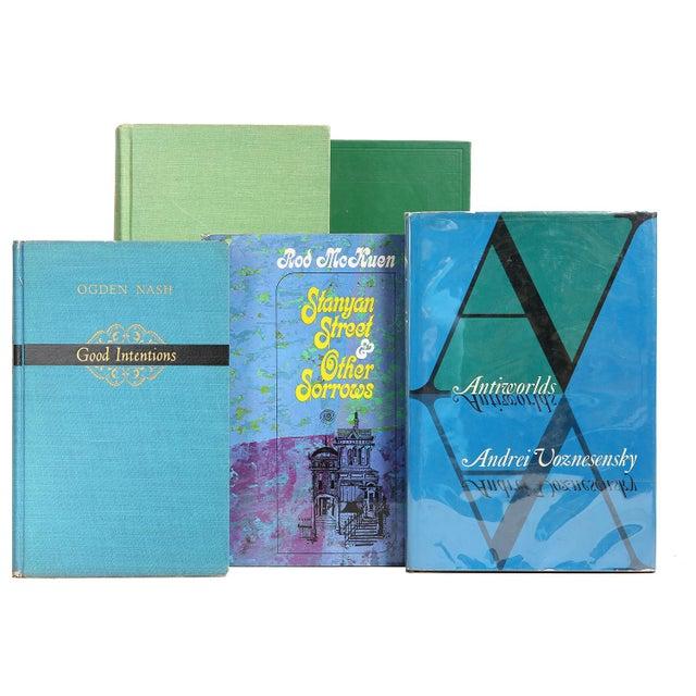 "Mid Century ""Ocean"" Poetry Books - Set of 20 - Image 3 of 3"